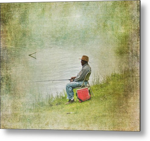 Black Man Metal Print featuring the photograph Wednesday Afternoon by Jai Johnson