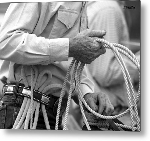 Rodeo Metal Print featuring the photograph Hands Of Time.. by Carol Miller