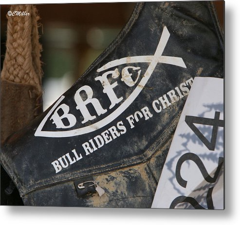 Rodeo Metal Print featuring the photograph Self Explanatory.. by Carol Miller