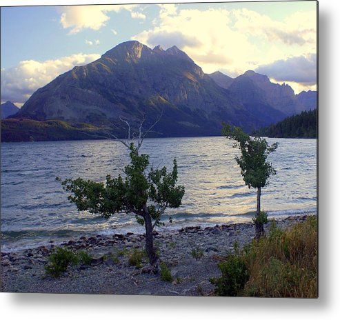 St. Mary's Lake Metal Print featuring the photograph St. Mary Lake by Marty Koch