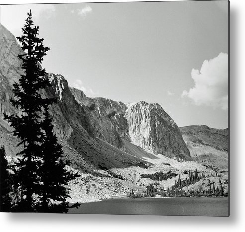 Landscape Metal Print featuring the photograph Below Medicine Bow by Allan McConnell