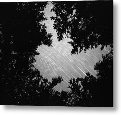 Nature Metal Print featuring the photograph San Juan Time Lapse by Benjamin Garvey