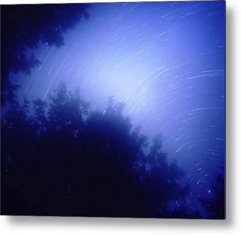 Nature Metal Print featuring the photograph North Star by Benjamin Garvey