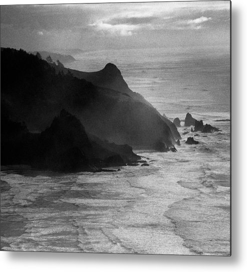 Nature Metal Print featuring the photograph Light Rocks by Benjamin Garvey