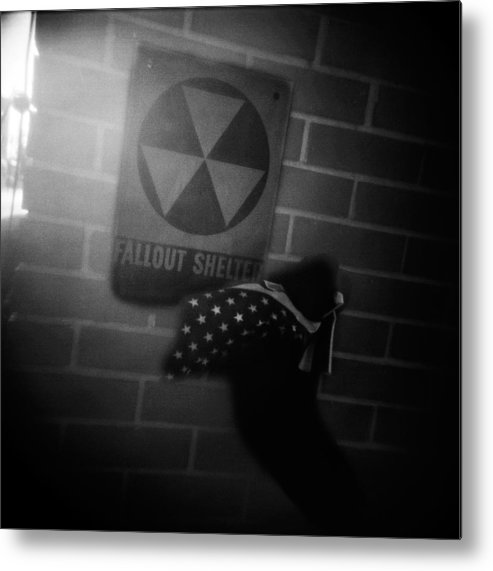 Fallout Metal Print featuring the photograph Cold War by Steve Parrott