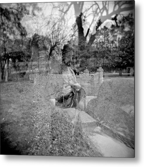 Holga Metal Print featuring the photograph Crossing Over by Steve Parrott