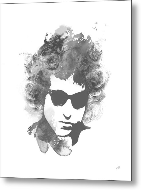 Bob Dylan Metal Print featuring the digital art Like A Rolling Stone by Laurence Adamson