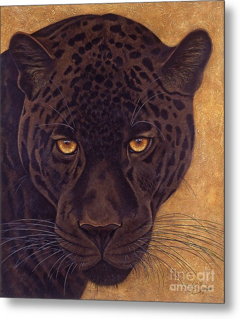 Lawrence Supino Metal Print featuring the painting Jag by Lawrence Supino