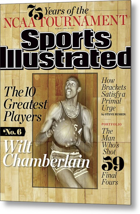 Magazine Cover Metal Print featuring the photograph The 10 Greatest Players 75 Years Of The Tournament Sports Illustrated Cover by Sports Illustrated