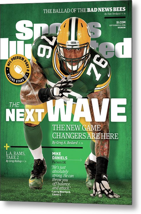 Green Bay Metal Print featuring the photograph The Next Wave The New Game Changers Are Here Sports Illustrated Cover by Sports Illustrated
