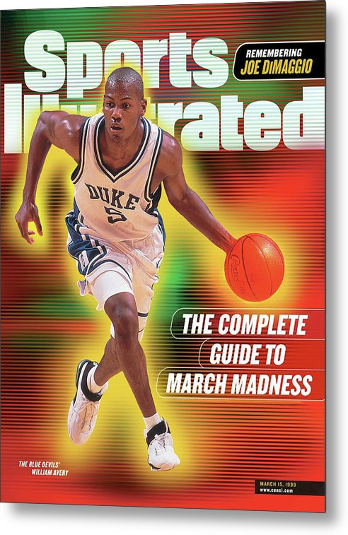 Michigan State University Metal Print featuring the photograph The Complete Guide To March Madness Sports Illustrated Cover by Sports Illustrated