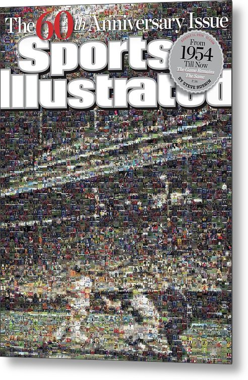 Magazine Cover Metal Print featuring the photograph 60th Anniversary Issue Sports Illustrated Cover by Sports Illustrated