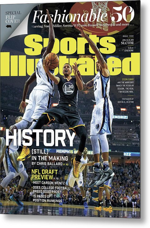 Federal Express Metal Print featuring the photograph History still In The Making Sports Illustrated Cover by Sports Illustrated