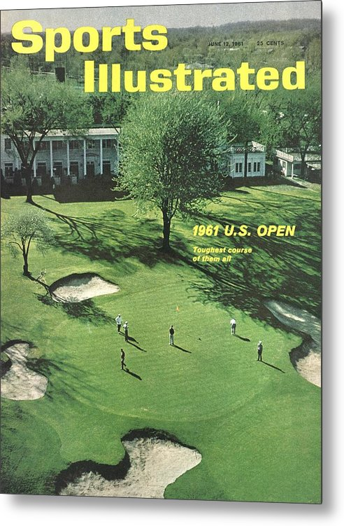 Magazine Cover Metal Print featuring the photograph Oakland Hills Country Club Sports Illustrated Cover by Sports Illustrated