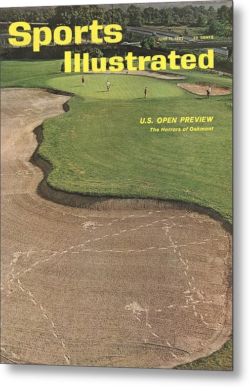 Scenics Metal Print featuring the photograph Oakmont Country Club Sports Illustrated Cover by Sports Illustrated