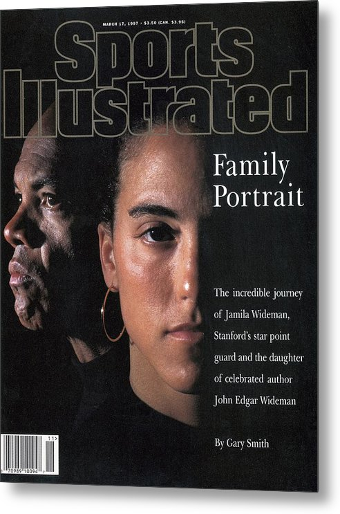 California Metal Print featuring the photograph Stanford University Jamila Wideman Sports Illustrated Cover by Sports Illustrated