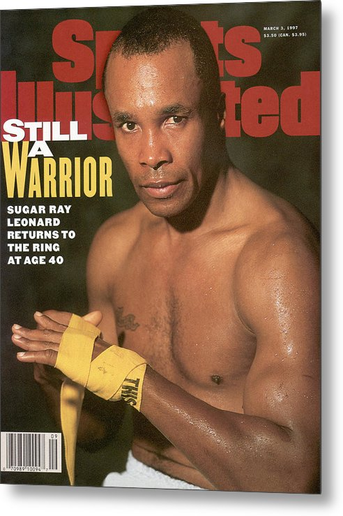 Event Metal Print featuring the photograph Sugar Ray Leonard, Middleweight Boxing Sports Illustrated Cover by Sports Illustrated