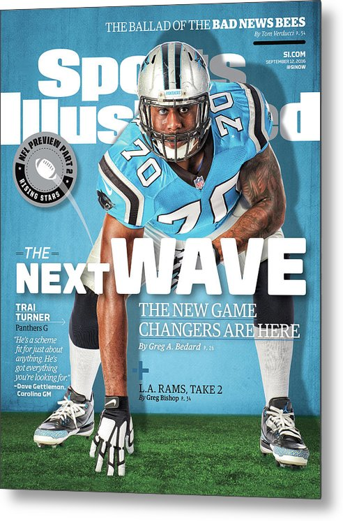 Magazine Cover Metal Print featuring the photograph The Next Wave The New Game Changers Are Here Sports Illustrated Cover by Sports Illustrated