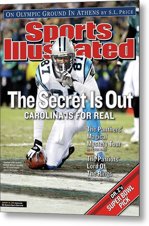 Magazine Cover Metal Print featuring the photograph The Secret Is Out Carolina Is For Real Sports Illustrated Cover by Sports Illustrated
