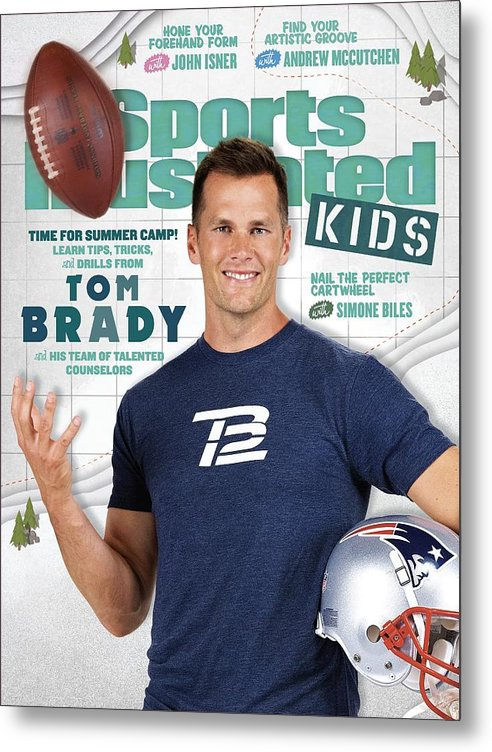 People Metal Print featuring the photograph Tom Brady Sports Illustrated Cover by Sports Illustrated