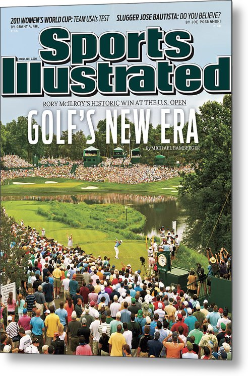 Bethesda Metal Print featuring the photograph U.s. Open - Final Round Sports Illustrated Cover by Sports Illustrated