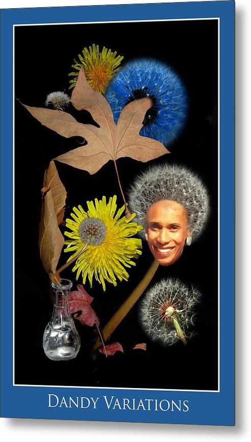 Flowers Metal Print featuring the photograph Dandy Variations by Richard Gordon