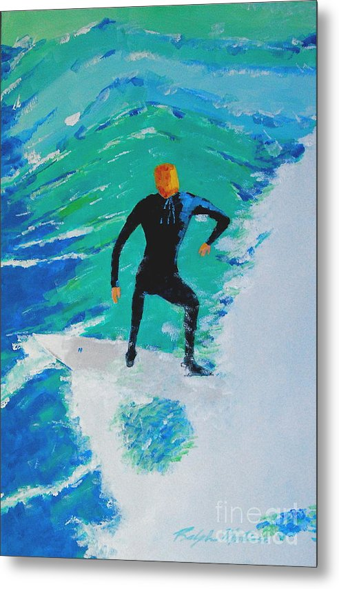 Beach Art Metal Print featuring the painting Just Another Ride by Art Mantia