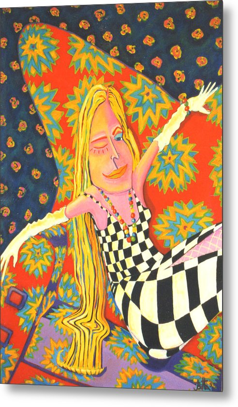 Sexy Metal Print featuring the painting Let Me Call You Sweetheart by Joetta Currie