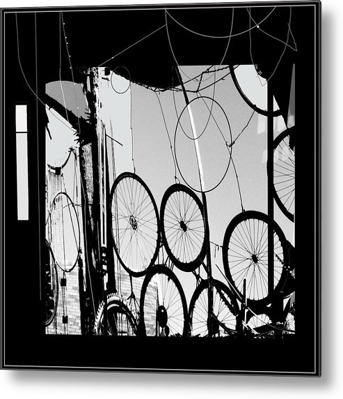 Abstract Metal Print featuring the digital art Mechanistic by Dale Witherow