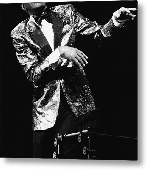Singer Metal Print featuring the photograph Ray Charles Dances On Stage by Hulton Archive