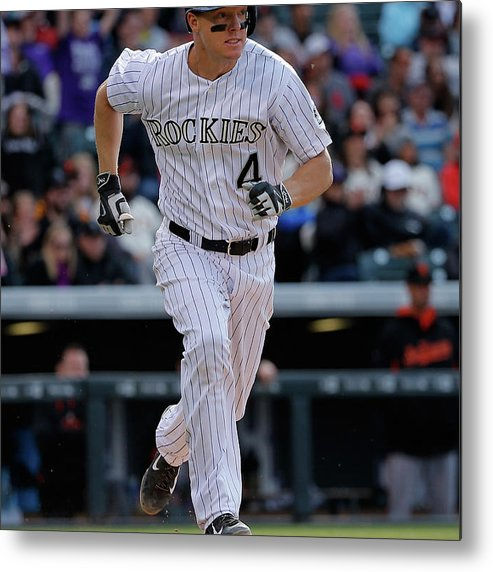 People Metal Print featuring the photograph Nick Hundley by Doug Pensinger