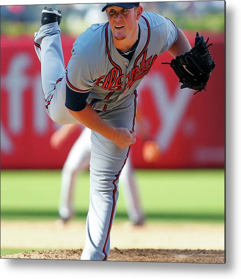 Citizens Bank Park Metal Print featuring the photograph Craig Kimbrel by Rich Schultz