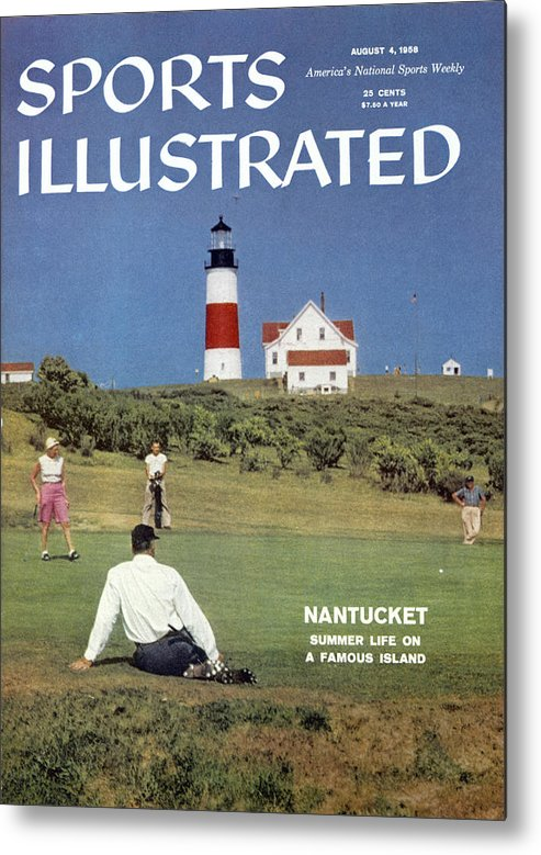 Magazine Cover Metal Print featuring the photograph Nantucket Island Golf Sports Illustrated Cover by Sports Illustrated