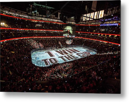 Playoffs Metal Print featuring the photograph 2015 Nhl Stanley Cup Final - Game Six by Bill Smith