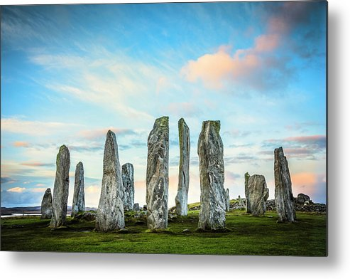 Prehistoric Era Metal Print featuring the photograph Callanish Standing Stones, Isle Of Lewis by Theasis