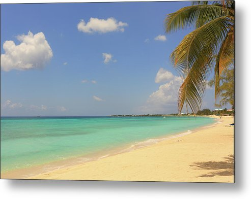 Scenics Metal Print featuring the photograph Caribbean Dream Beach by Shunyufan