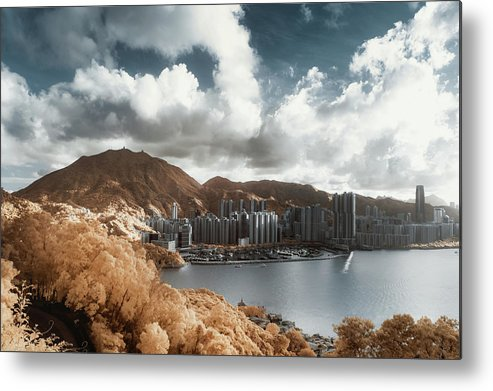 Tranquility Metal Print featuring the photograph Hong Kong by D3sign