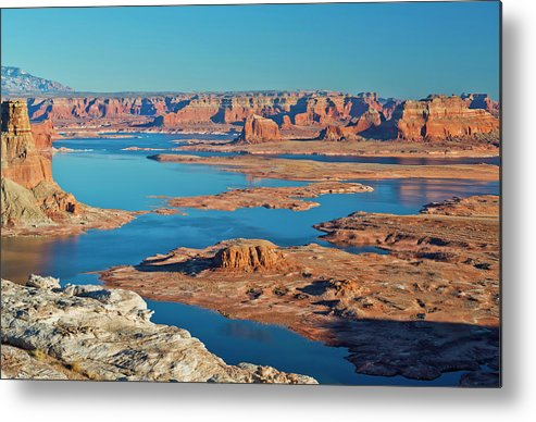 Tranquility Metal Print featuring the photograph Lake Powell by Chen Su