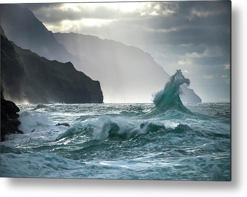 Coast Metal Print featuring the photograph Untitled 1 by Ali Rismanchi