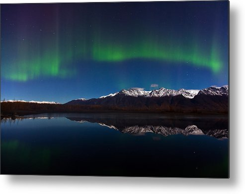 Metal Print featuring the photograph Auroras by Richard Jack-James