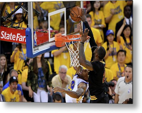 Playoffs Metal Print featuring the photograph 2016 Nba Finals - Game Seven by Thearon W. Henderson