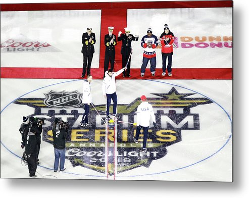National Hockey League Metal Print featuring the photograph 2018 Coors Light Nhl Stadium Series - by Jeff Vinnick