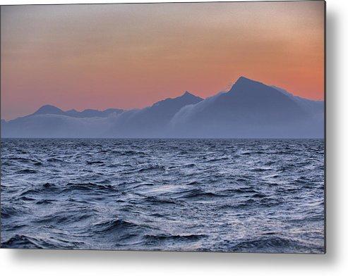Scenics Metal Print featuring the photograph Ragged Coastline Of Faroe Islands by Sindre Ellingsen