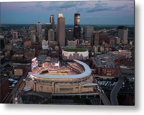 All Star Game Metal Print featuring the photograph 85th Mlb All-star Game Aerials by Steven Bergerson