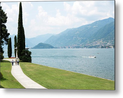 Tranquility Metal Print featuring the photograph Bellagio, Lake Como, Lombardy, Italy by Tim E White