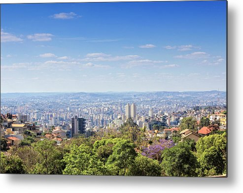 Tranquility Metal Print featuring the photograph Belo Horizonte by Antonello