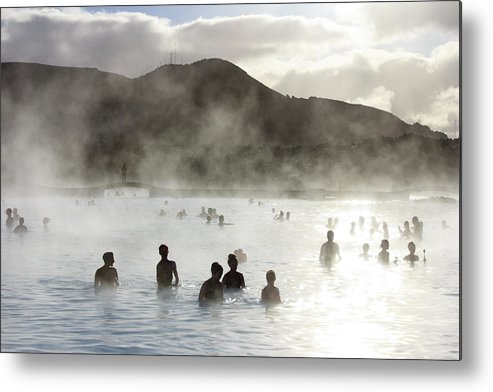 Spa Metal Print featuring the photograph Blue Lagoon Geothermal Spa by Thomas Janisch