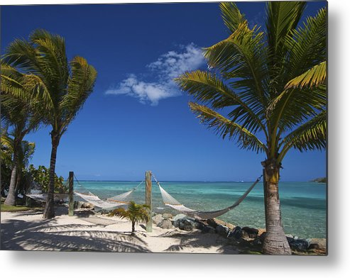 3scape Metal Print featuring the photograph Breezy Island Life by Adam Romanowicz