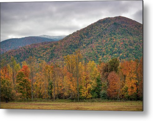 Scenics Metal Print featuring the photograph Cades Cove, Great Smoky Mountains by Fotomonkee