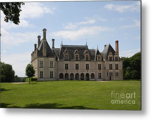 Palace Metal Print featuring the photograph Chateau Beauregard Loire Valley by Christiane Schulze Art And Photography